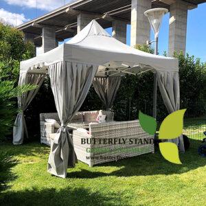Gazebo Tente Garden Kamelya 3x3M